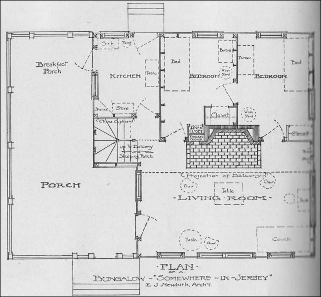 Ant Hill - Bungalow Floor Plan