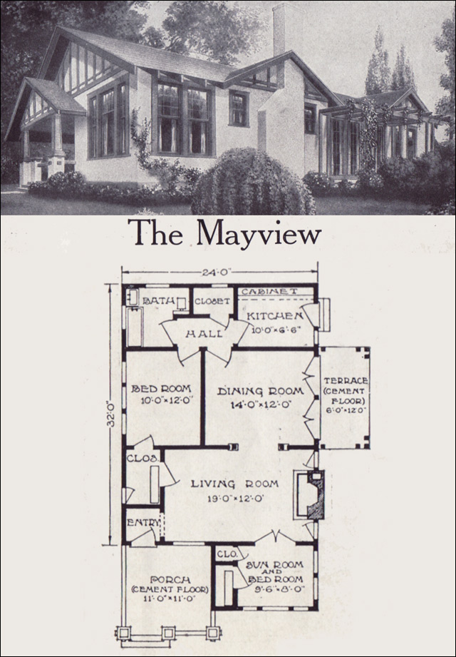 c. 1921 Aladdinette - Mayview