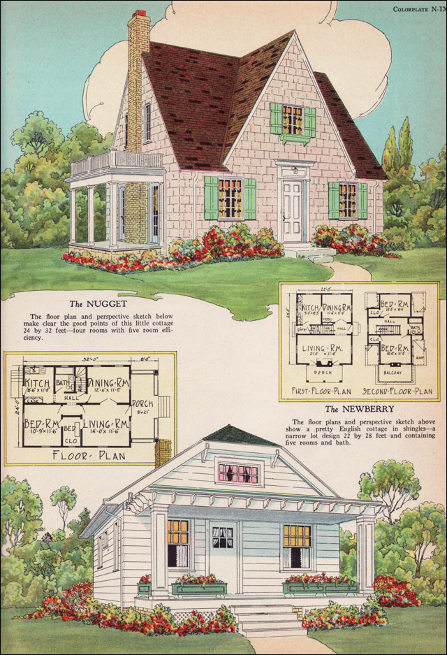 Small english cottage house plans find house plans House plans for cottages