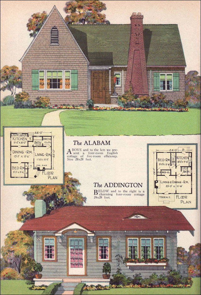 Old cottage style house plans