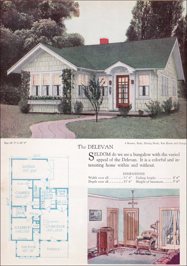 Vintage house plans 17 best images about vintage home for Retro home designs