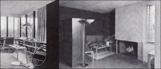 1940 Neutra Cottage One Bedroom Small House American