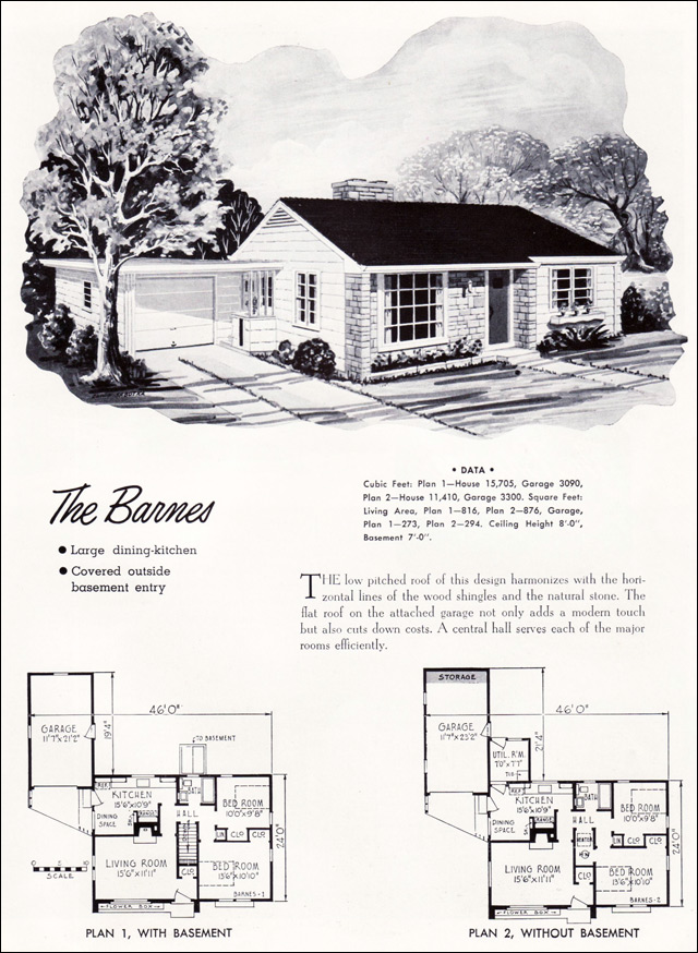1952 Barnes by National Plan Service
