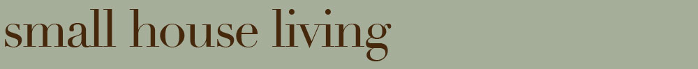 Small House Living Logo